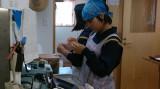阿南中学校の女子生徒2名(体験学習)